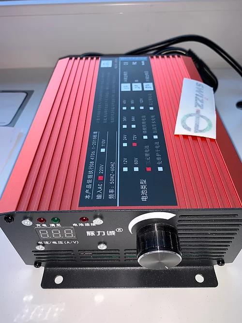 Chargeur pour batterie 72V 12A
