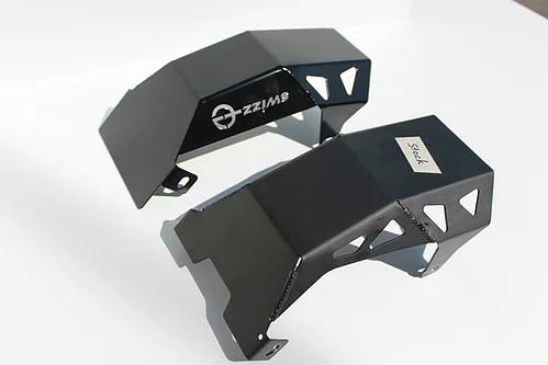 Sabot en acier chromé, revêtement EPOXY noir