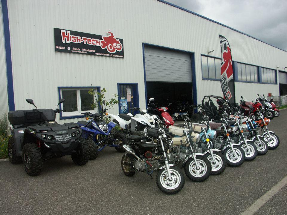 Magasin de quads, motos et scooter à Wittenheim - High-Tech 68